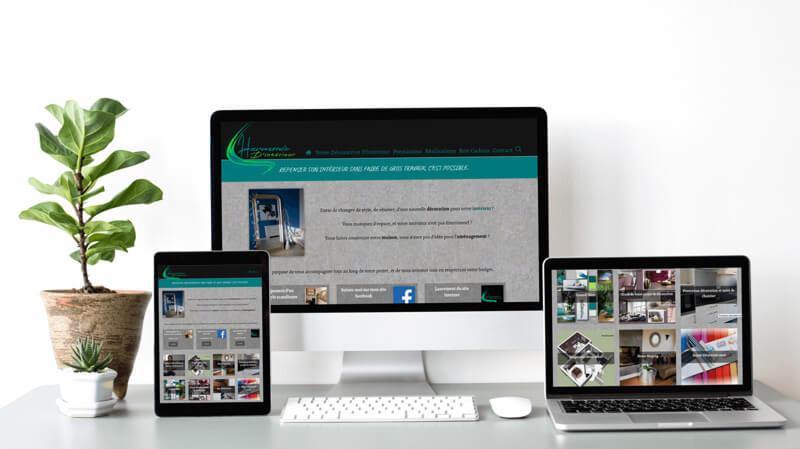 refonte site internet harmoniedinterieur